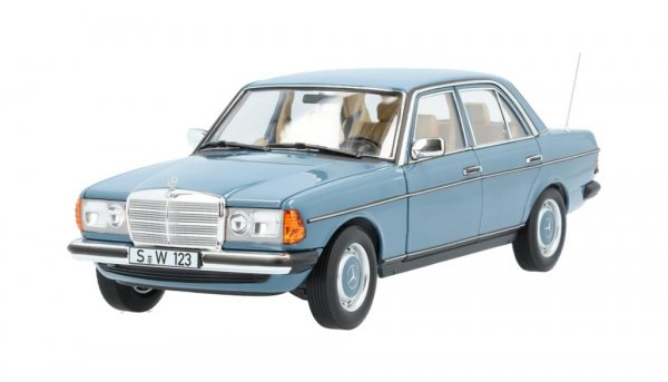 200 W123 (1980-1985) rot, Norev, 1:18